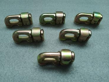 Set 6 Stück Airline Double Stud Fitting